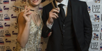 Новогодний корпоратив для компании РостТрейд Чикаго 2014